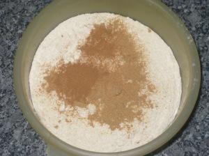 Ginger Cream Christmas Cake (5)