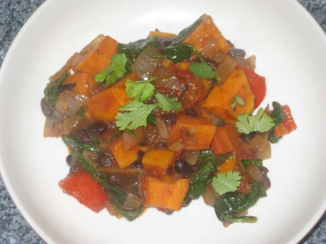 Jerk Sweet Potato Curry (9)