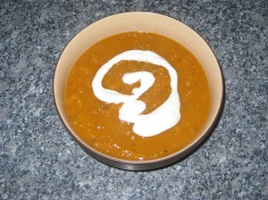 Roasted Butternut Squash Soup (12)
