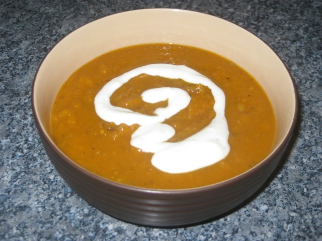 Roasted Butternut Squash Soup (13)