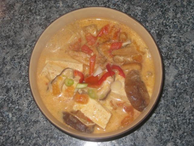 Tofu and Oyster Mushroom Laksa (12)