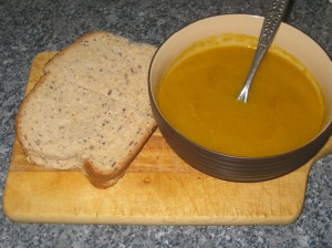 Curried Butternut Squash and Apple Soup (12)