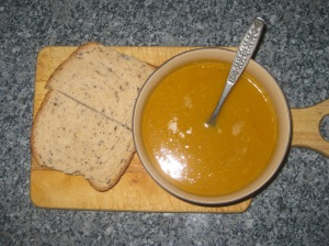 Curried Butternut Squash and Apple Soup (13)