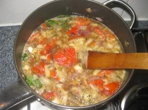 Grilled Vegetable Soup (10)