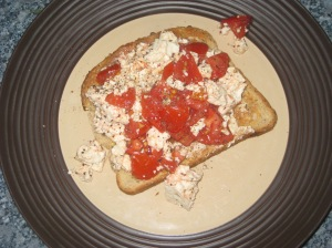 Tomato and Basil Tofu Scramble (8)