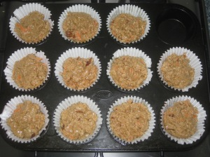 Carrot and Maple Muffins (3)