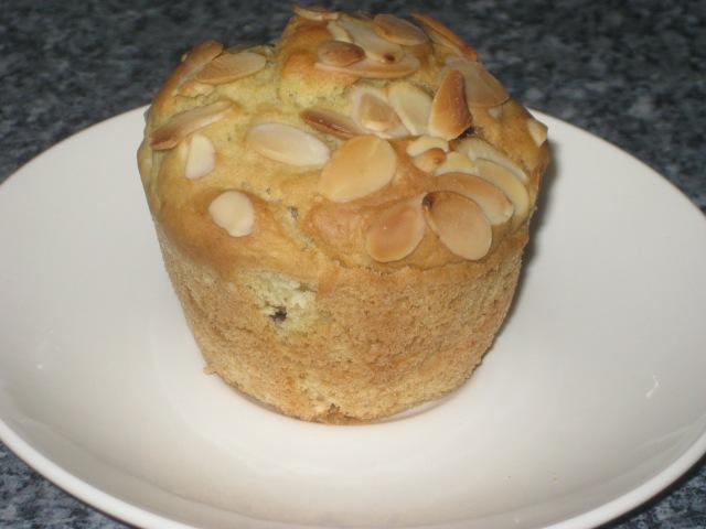 Cherry Almond Muffins (12)