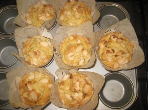 Cherry Almond Muffins (7)