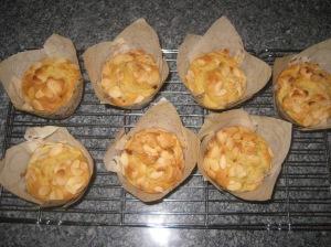 Cherry Almond Muffins (8)