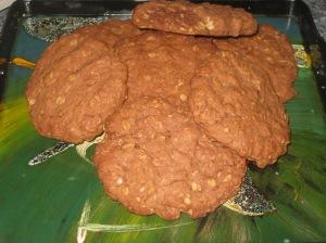 Choc Peanut Cookies (11)