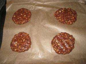 Choc Peanut Cookies (5)