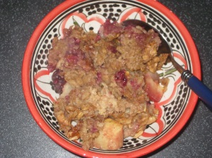 Baked Apple Oatmeal (7)