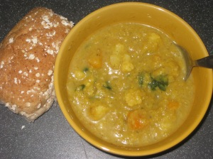 Indian Lentil and Cauliflower Soup (11)