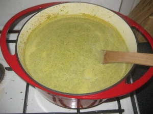 Cheddary Broccoli Soup (7)