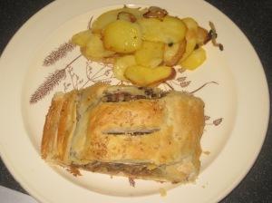 A Vegan Taste of France Aubergine and Lentil Pate en Croute (10)