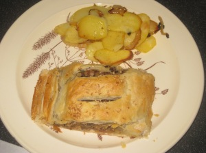 A Vegan Taste of France Aubergine and Lentil Pate en Croute (10)