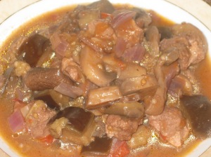 A Vegan Taste of France Aubergine and Mushroom Ragout (13)