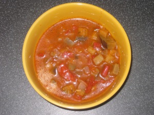 A Vegan Taste of France Aubergine and Tomato Soup (4)