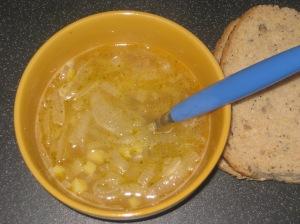 A Vegan Taste of France Breton Onion Soup (5)