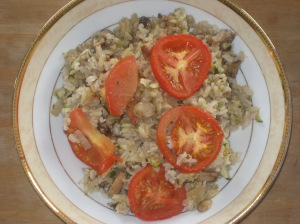 A Vegan Taste of France Courgette Mushroom and Rice Tian (1)