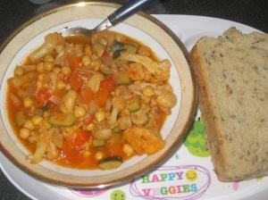 A Vegan Taste of France Herby Chickpea Stew (8)