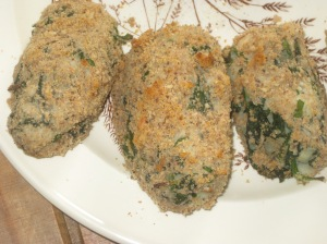 A Vegan Taste of France Potato Spinach and Walnut Croquettes (9)