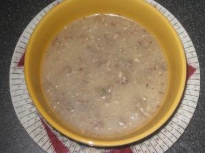 A Vegan Taste of France Puy Lentil and Mushroom Soup (7)