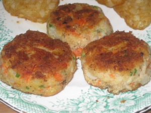 A Vegan Taste of France Root Veg and Almond Cakes (9)