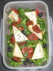 Salad Samurai Strawberry Spinach Salad