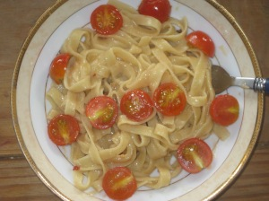 Vegan Secret Supper - Coconut Fettucine Alfredo