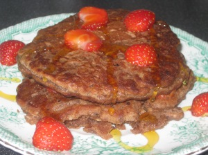 Vegan Secret Supper Peanut Butter Oat Pancakes (11)