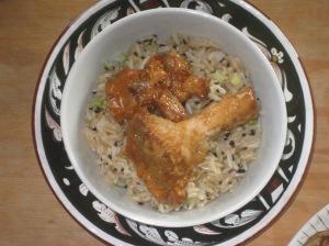 Vegan Secret Supper Crispy Oyster Mushroom Tempura With Ginger Miso Sauce and Sesame Sweet Rice (1)