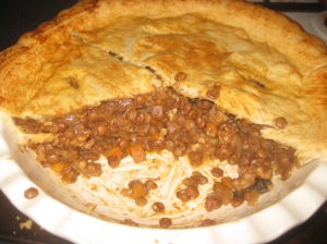 Vegan Secret Supper Lentil Walnut Tourtiere (2)