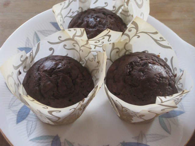 Chocolate Courgette Muffins (12)