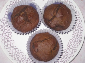Vegan Chocolate Muffins (12)