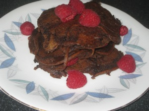 Vegan Secret Supper Double Chocolate Pancakes 014