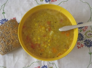 Veganomicon Midsummer Corn Chowder