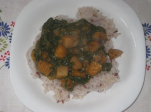 Veganomicon Pumpkin Saag