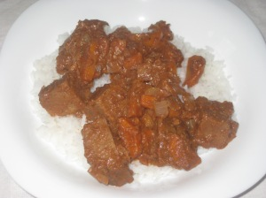 Veganomicon Seitan in Mole Sauce