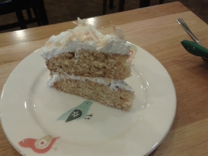 Moment Coconut Cake