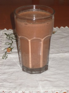 Street Vegan Chocolate Milkshake