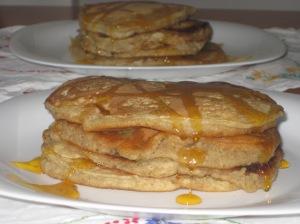 Thug Kitchen Whole Wheat Banana Pancakes 006