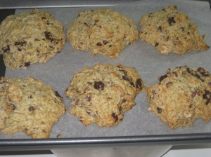 Vegan Bible Banana Choc Chip Hazelnut Scones (2)