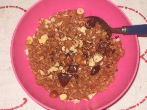 Vegan Bible Cinnamon Chocolate Hazelnut Porridge (1)