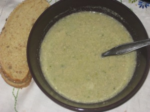 Vegan Bible Curried Creamy Broccoli Soup