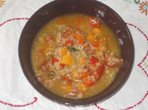 Vegan Bible Quinoa Soup