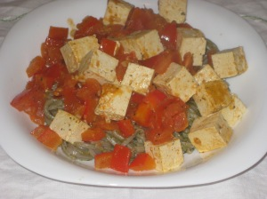 Vegan Bible Soba Noodles and Provencale Tofu 002