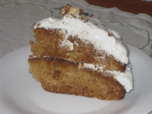 Moment Pineapple Walnut Coconut Cake