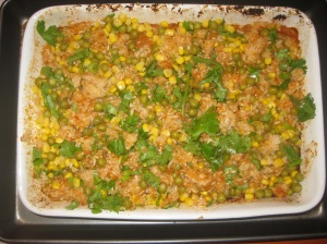 Thug Kitchen Baked Spanish Rice