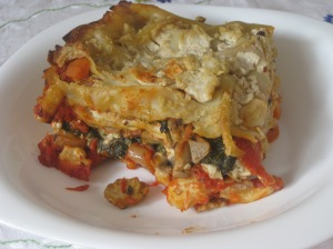 Thug Kitchen Mixed Mushroom and Spinach Lasagne (6)